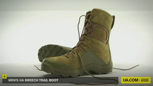 Men's UA Breech Trail Boot  - image 1 from the video