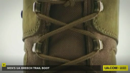 Men's UA Breech Trail Boot  - image 10 from the video