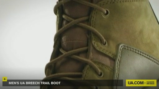 Men's UA Breech Trail Boot  - image 2 from the video