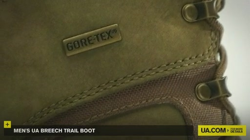 Men's UA Breech Trail Boot  - image 3 from the video