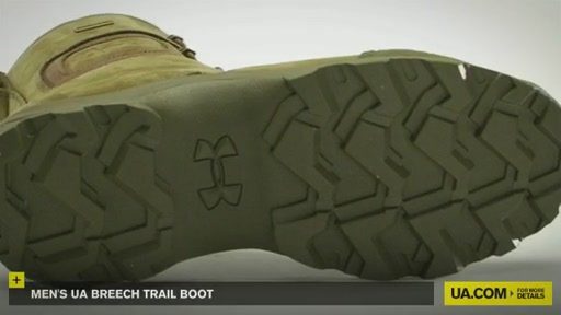 Men's UA Breech Trail Boot  - image 4 from the video