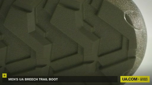 Men's UA Breech Trail Boot  - image 6 from the video