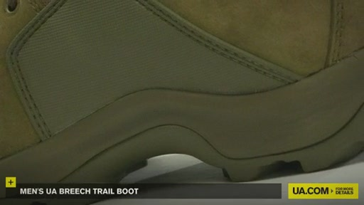 Men's UA Breech Trail Boot  - image 7 from the video