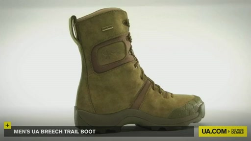 Men's UA Breech Trail Boot  - image 8 from the video