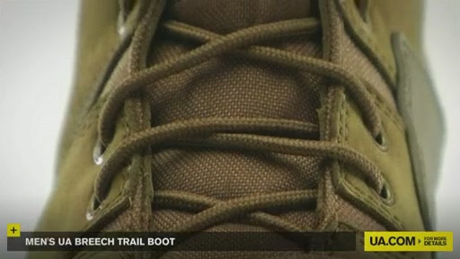 Men's UA Breech Trail Boot  - image 9 from the video