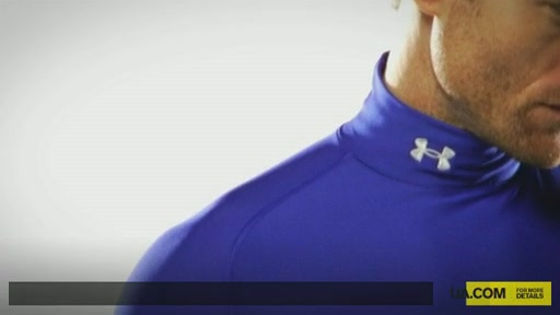 Men's ColdGear® Game Day Compression Mock - image 1 from the video