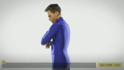 Men's ColdGear® Game Day Compression Mock - image 10 from the video