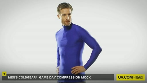 Men's ColdGear® Game Day Compression Mock - image 8 from the video