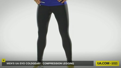 Men's UA Evo ColdGear® Compression Legging - image 2 from the video