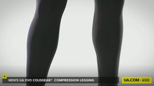 Men's UA Evo ColdGear® Compression Legging - image 4 from the video