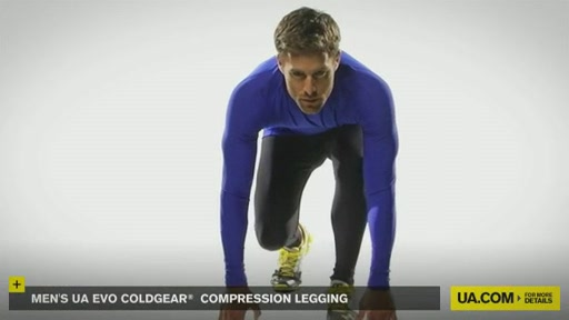 Men's UA Evo ColdGear® Compression Legging - image 7 from the video