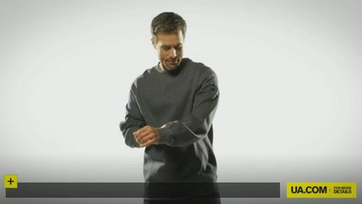 Men's UA Charged Cotton® Storm Fleece Crew - image 1 from the video