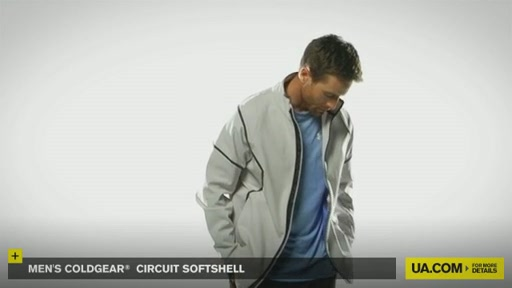 Men's ColdGear® Circuit Softshell - image 2 from the video
