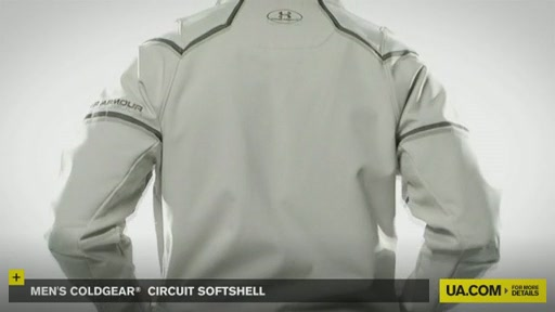 Men's ColdGear® Circuit Softshell - image 3 from the video