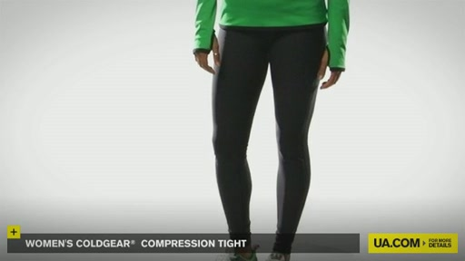 Women's ColdGear® Compression Tights - image 4 from the video