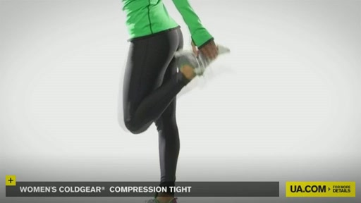 Women's ColdGear® Compression Tights - image 7 from the video