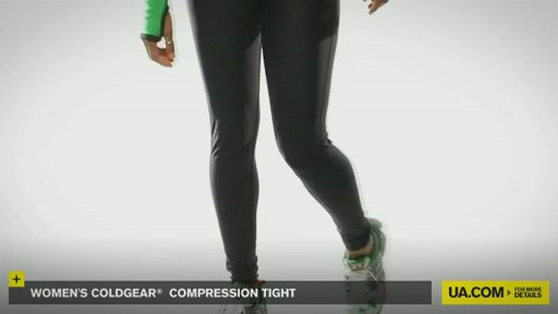 Women's ColdGear® Compression Tights - image 9 from the video