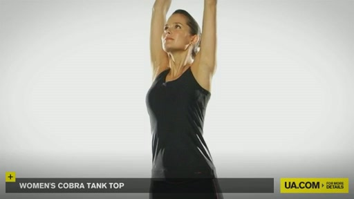 Women's UA Cobra Tank - image 2 from the video
