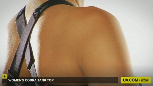 Women's UA Cobra Tank - image 5 from the video