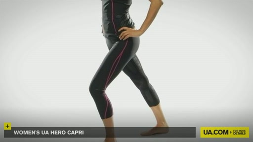 Women's UA Hero Capri Pants  - image 2 from the video