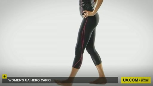 Women's UA Hero Capri Pants  - image 3 from the video