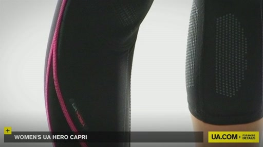 Women's UA Hero Capri Pants  - image 5 from the video