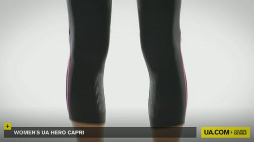 Women's UA Hero Capri Pants  - image 9 from the video