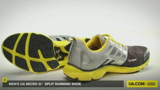 Men's UA Micro G® Split Running Shoes - image 2 from the video