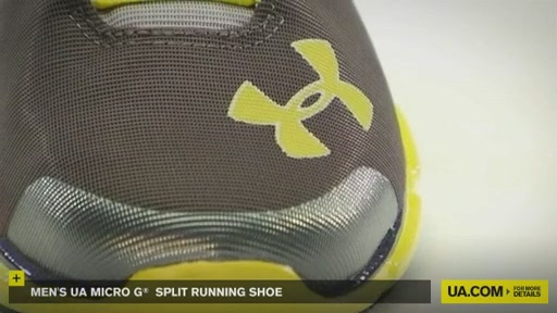 Men's UA Micro G® Split Running Shoes - image 3 from the video