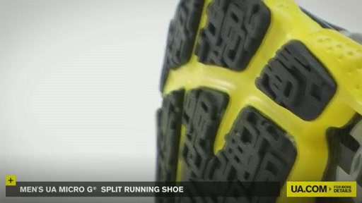 Men's UA Micro G® Split Running Shoes - image 6 from the video