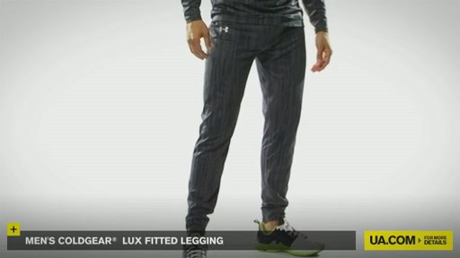 Men's ColdGear® Lux Fitted Legging - image 9 from the video