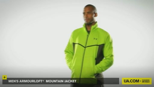 Men's ArmourLoft® Mountain Jacket - image 2 from the video