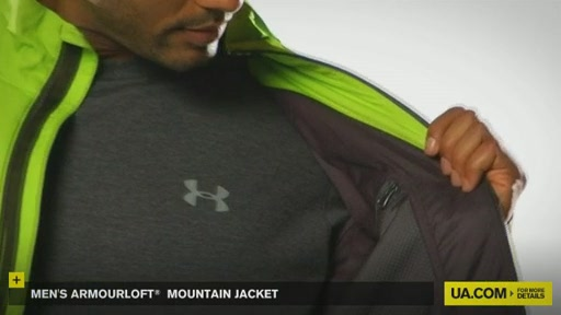 Men's ArmourLoft® Mountain Jacket - image 3 from the video