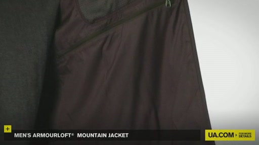 Men's ArmourLoft® Mountain Jacket - image 4 from the video
