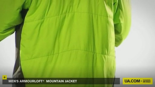 Men's ArmourLoft® Mountain Jacket - image 5 from the video