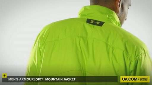 Men's ArmourLoft® Mountain Jacket - image 6 from the video
