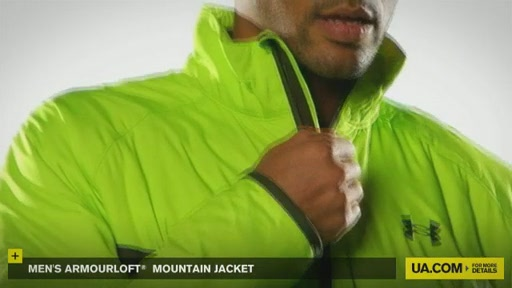 Men's ArmourLoft® Mountain Jacket - image 7 from the video