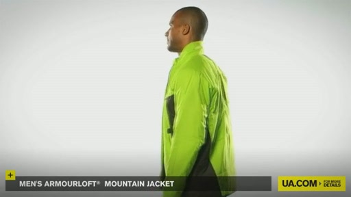 Men's ArmourLoft® Mountain Jacket - image 8 from the video