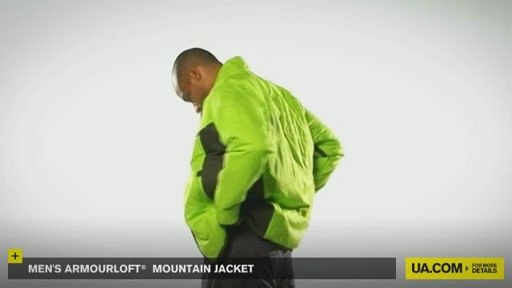 Men's ArmourLoft® Mountain Jacket - image 9 from the video