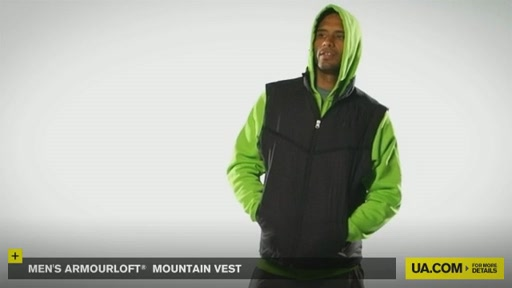 Men's ArmourLoft® Mountain Vest - image 2 from the video
