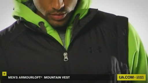 Men's ArmourLoft® Mountain Vest - image 3 from the video
