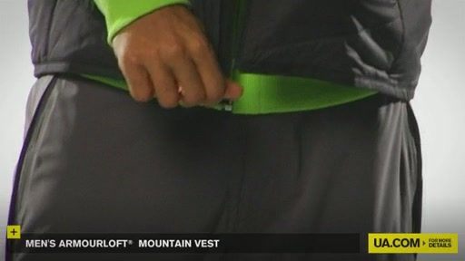 Men's ArmourLoft® Mountain Vest - image 4 from the video