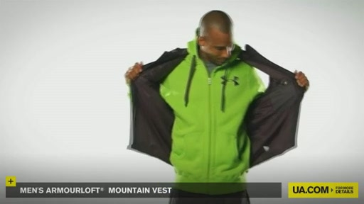 Men's ArmourLoft® Mountain Vest - image 5 from the video