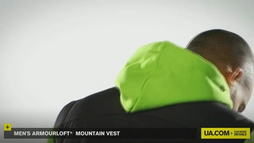 Men's ArmourLoft® Mountain Vest - image 8 from the video