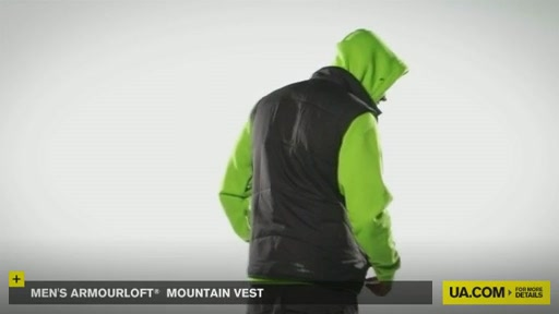 Men's ArmourLoft® Mountain Vest - image 9 from the video