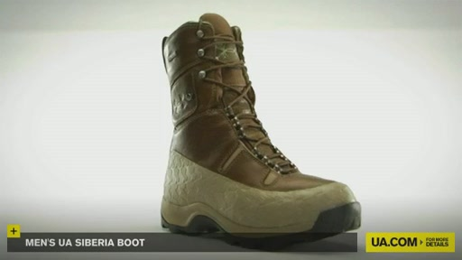 Men's UA Siberia Boot - image 4 from the video