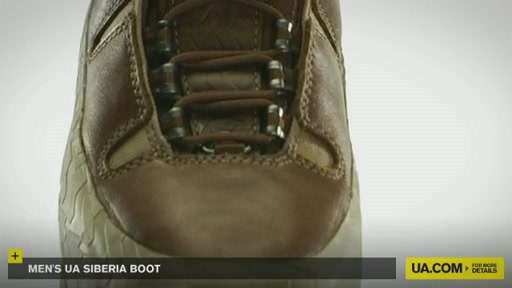 Men's UA Siberia Boot - image 6 from the video