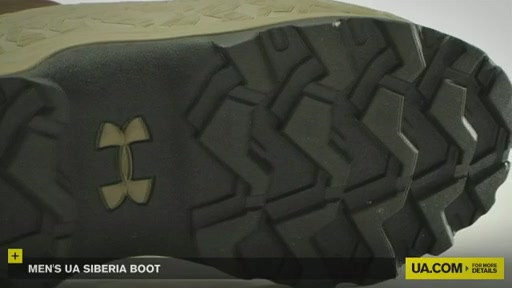 Men's UA Siberia Boot - image 8 from the video