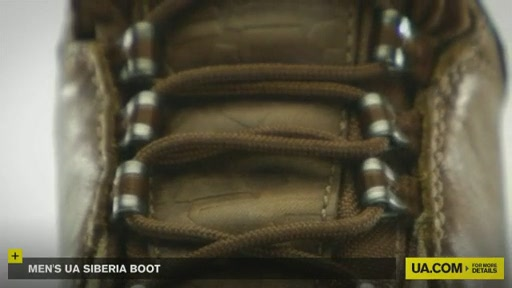 Men's UA Siberia Boot - image 9 from the video