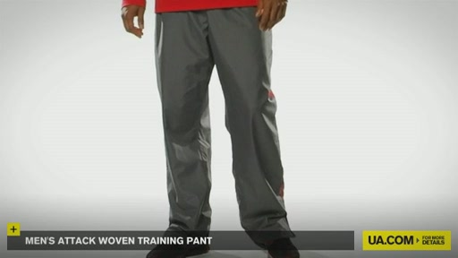 Men's Attack Woven Training Pant - image 2 from the video